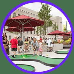 mobilni mini golf dozivetje